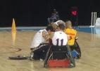 No Parapan, rúgbi em cadeira de rodas tem pit stop para troca de pneus - Felipe Pereira
