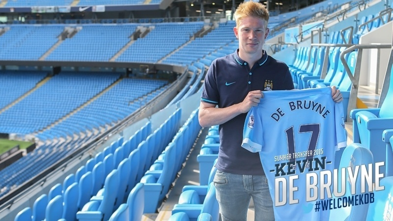 1 - Principal transferência da janela, o belga Kevin De Bruyne trocou o Wolfsburg pelo Manchester City por 75 milhões de euros (R$ 299,91 milhões)