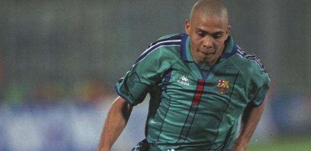 Ronaldo marcou 47 gols em 49 partidas com a camisa do Barcelona