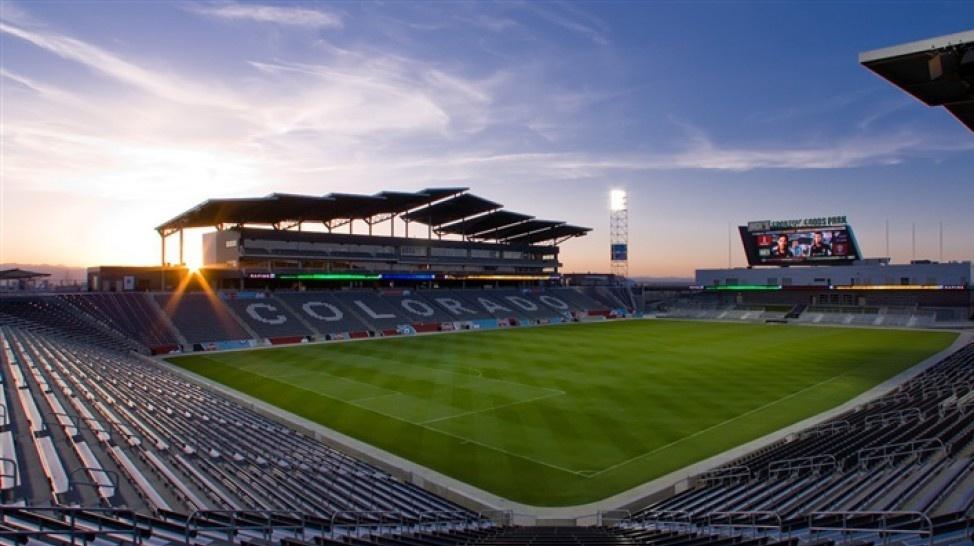 Estádio em Denver que receberá o jogo entre Brasil e Panamá