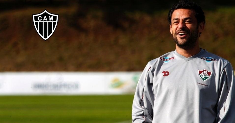 Montagem - Fred (atacante) - Do Fluminense para o Atlético-MG