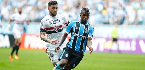Bolaños havia acertado a trave em jogos recentes e encerrou seca contra o Corinthians