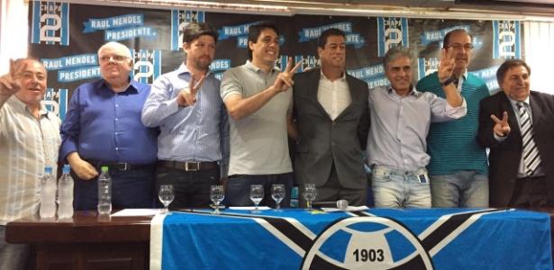 Chapa de oposição do Grêmio com Danrlei, De Leon e filho de Fábio Koff