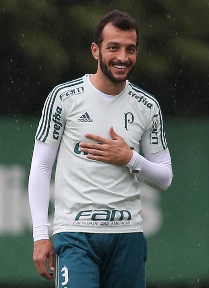Edu Dracena Palmeiras  camisa nova
