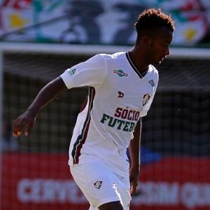Orejuela, do Fluminense, em ação pelo Campeonato Carioca