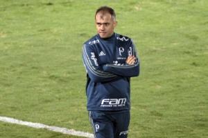 Eduardo Baptista cobra Palmeiras mais ligado no mata-mata: 'Não cabe erro'