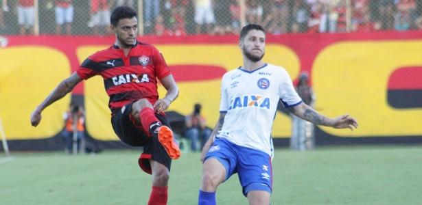 Meia tinha contrato até junho de 2019; rescisão é alívio econômico no clube - Maurícia da Matta/E.C. Vitória