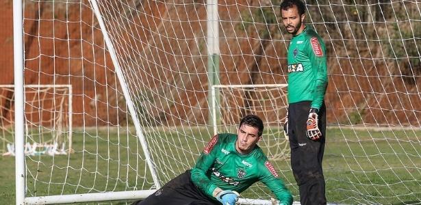 Com Giovanni machucado, Cleiton virou titular do Atlético-MG no jogo com a Chapecoense