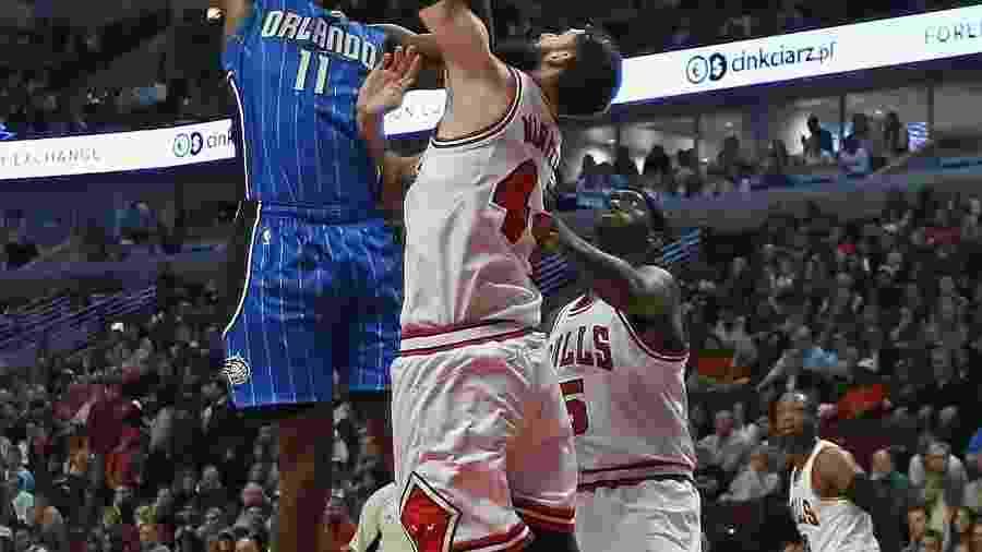 Mirotic e Portis, dos Bulls, se desentenderam em treino - Jonathan Daniel/Getty Images