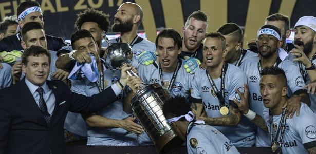 Grêmio conquistou o terceiro título da Libertadores em 29 de novembro - AFP Photo/ Juan Mabromata