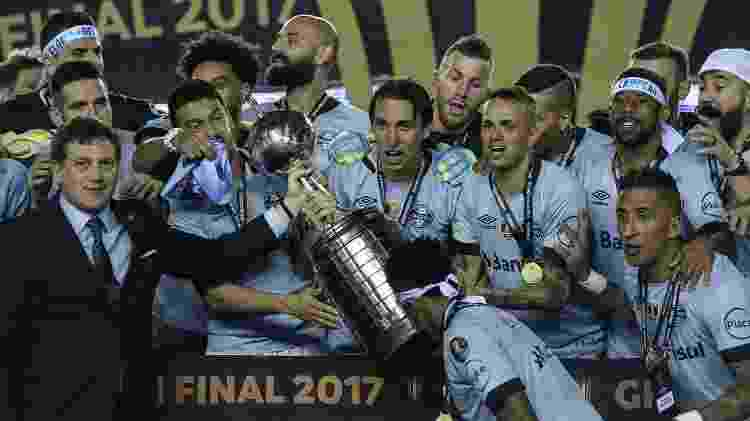 Grêmio - AFP PHOTO / JUAN MABROMATA - AFP PHOTO / JUAN MABROMATA