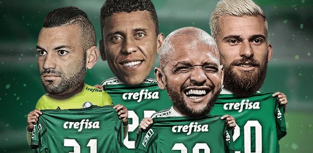 Numeração do Palmeiras em 2018 se movimenta com reforços, saídas e mudanças