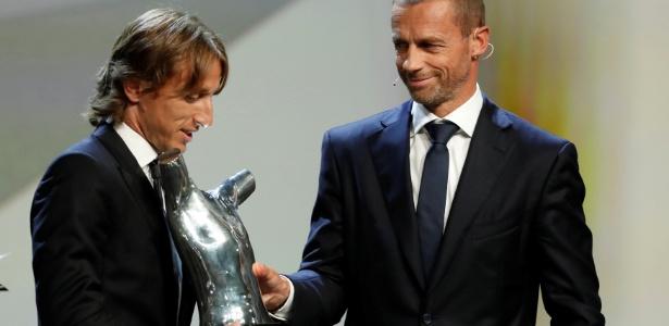 Croata foi eleito o melhor da Copa do Mundo e, agora, da última temporada europeia - Eric Gaillard/Reuters