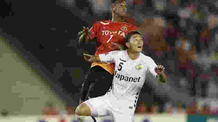 Atacante Jô defende atualmente o Nagoya Grampus, do Japão  - Divulgação/nge_official