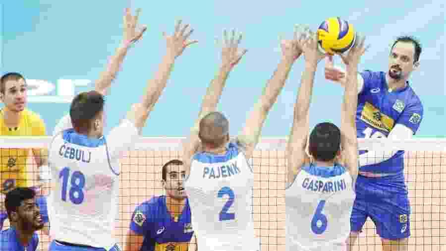 Brasil derrotou Eslovênia e se classificou no Mundial de Vôlei - Reprodução/FIBV