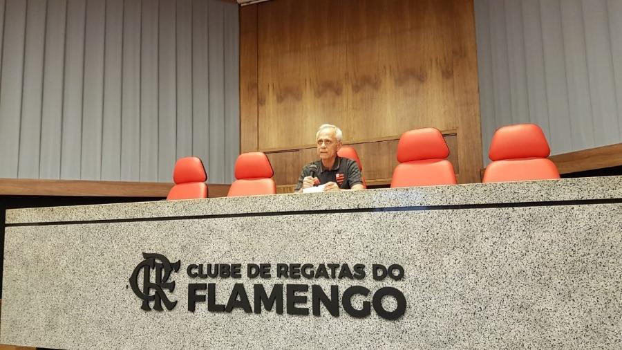Reinaldo Belotti, CEO do Flamengo, esteve presente na CPI do Ninho do Urubu na Alerj - Vinícius Castro/UOL