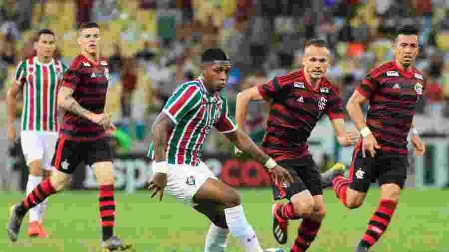 Flamengo e Fluminense voltam a se enfrentar no Campeonato Brasileiro - Jotta de Mattos/AGIF