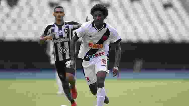 Atacante Talles Magno, de 16 anos, em sua estreia como profissional do Vasco contra o Botafogo - Rafael Ribeiro / Vasco.com.br - Rafael Ribeiro / Vasco.com.br