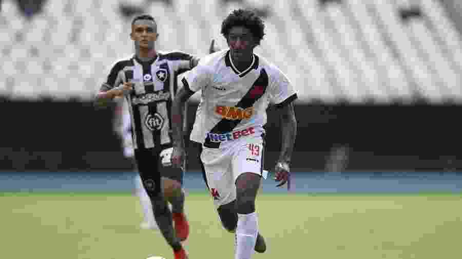 Atacante Talles Magno, de 17 anos, é pivô de desentendimento entre Vasco e CBF - Rafael Ribeiro / Vasco.com.br