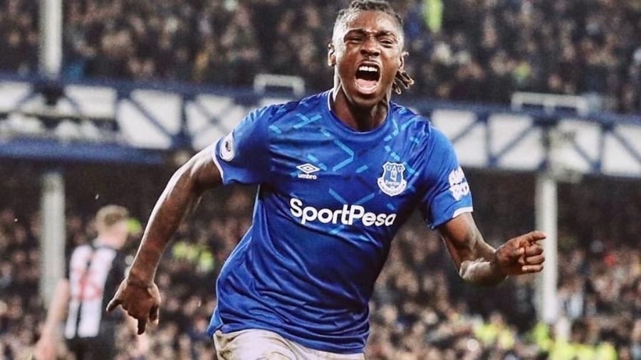 Moise Kean, do Everton - Reprodução/Instagram