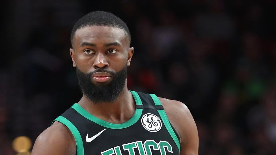Jaylen Brown, jogador do Boston Celtics, falou sobre invasão no Capitólio - Abbie Parr/Getty Images