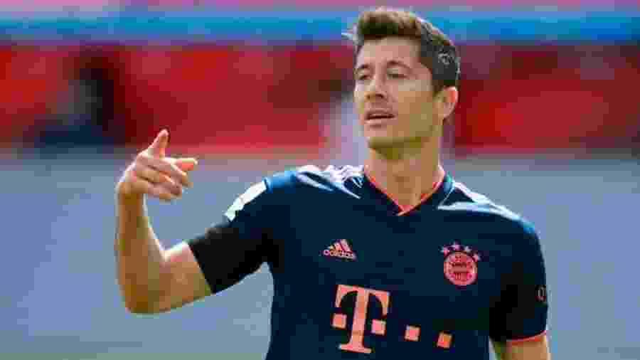Robert Lewandowski lidera a Chuteira de Ouro, co 60 pontos (30 gols) - Reprodução