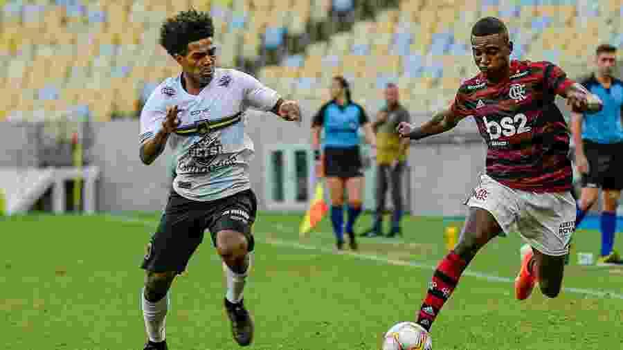 Flamengo e Volta Redonda em partida válida pela Taça Guanabara, primeiro turno do Campeonato Carioca - Marcelo Cortes / Flamengo