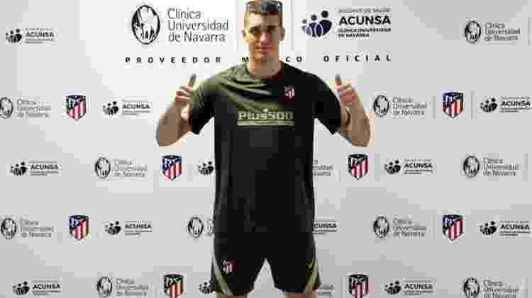 Grbic - Divulgação/Site oficial do Atlético de Madri - Divulgação/Site oficial do Atlético de Madri