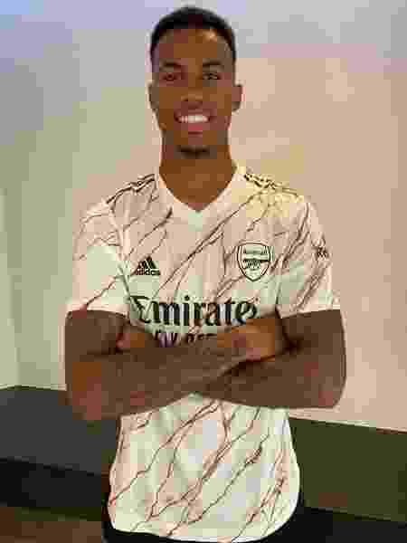 Zagueiro se mostrou animado com projeto do clube inglês - Reprodução/Arsenal