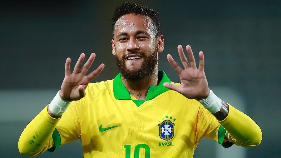 Desta vez, Neymar não é o único brasileiro na seleção dos mais caros do mundo - Daniel Apuy/Getty Images