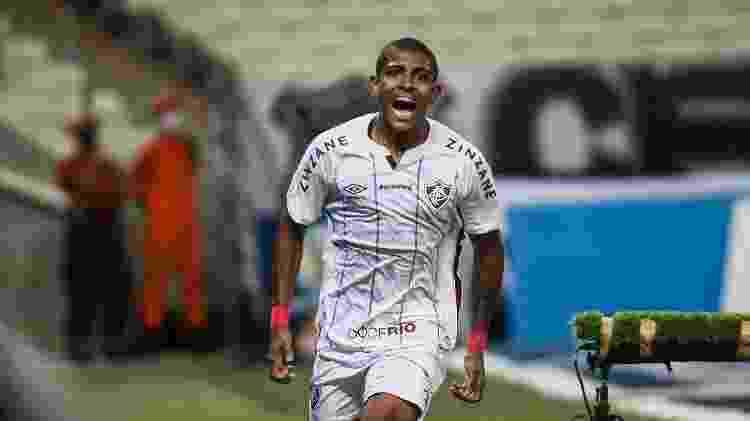 John Kennedy já marcou quatro gols em 14 partidas como profissional no Fluminense - Lucas Mercon/Fluminense FC - Lucas Mercon/Fluminense FC