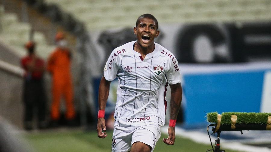 John Kennedy comanda o ataque do Fluminense contra o Resende pelo Carioca - Lucas Mercon/Fluminense FC