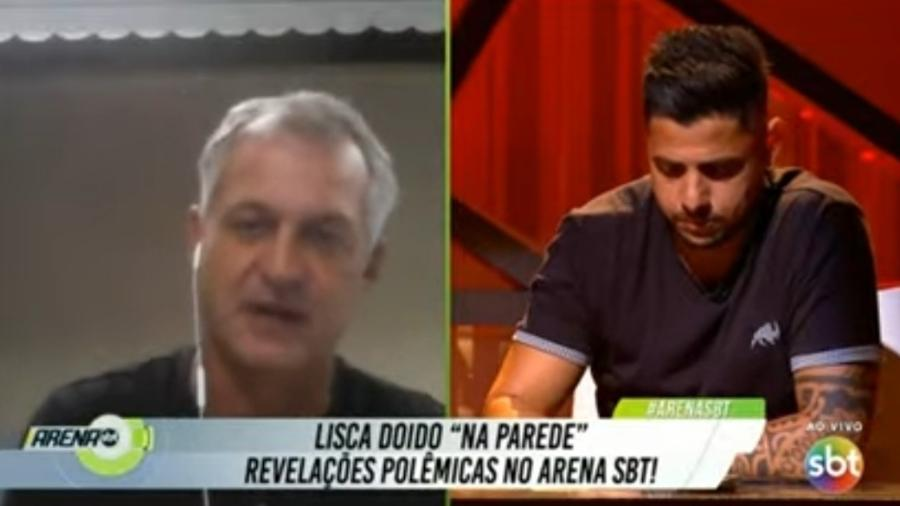 Lisca rebate Richarlyson sobre paralização do futebol por conta da covid-19 - Reprodução/SBT