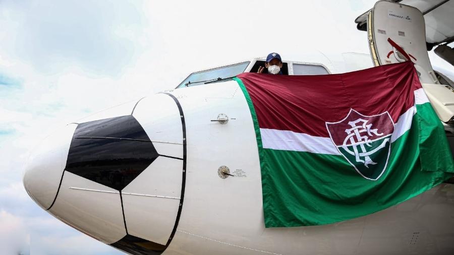 Fluminense de Fred enfrenta Junior (COL), maratona aérea e confusões da Conmebol na Libertadores - Lucas Merçon/Fluminense FC