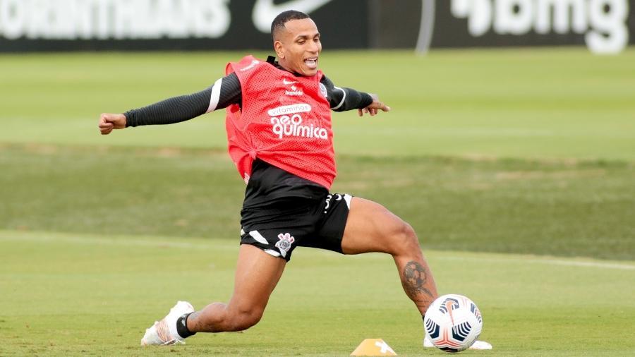 Otero em treino do Corinthians no CT Dr. Joaquim Grava - Rodrigo Coca/Agência Corinthians