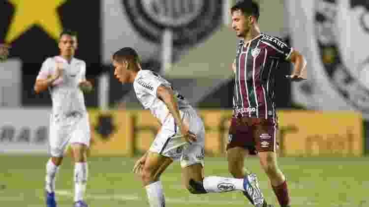 Santos x Fluminense, na Vila Belmiro, pelo Brasileiro 2020 - Ivan Storti/Santos FC - Ivan Storti/Santos FC