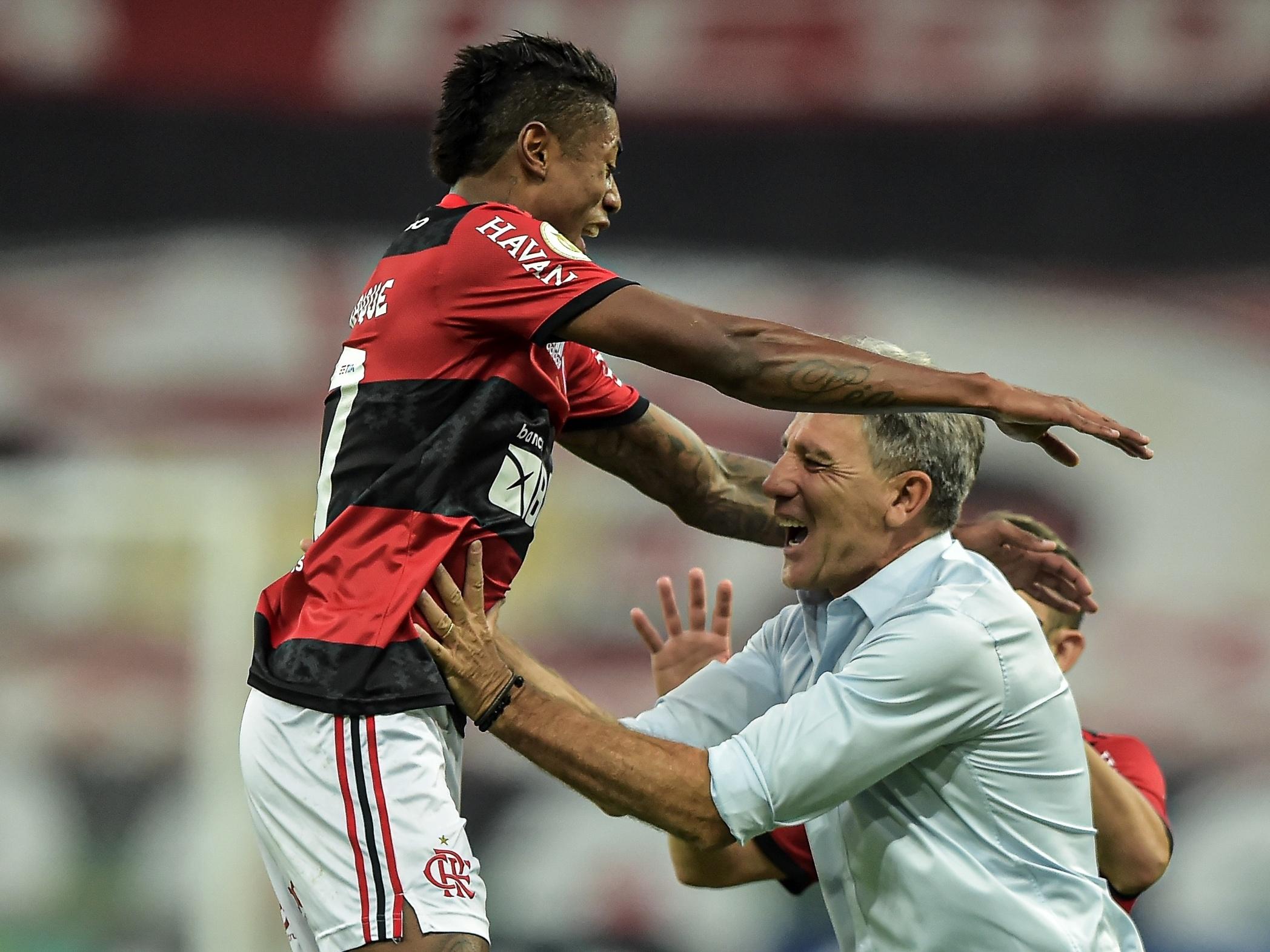 Bruno Henrique se anima com boa fase no Flamengo: Manter essa pegada