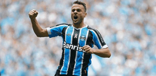 Bobô deve ganhar nova chance no time do Grêmio com equipe reserva - Lucas Uebel/Grêmio