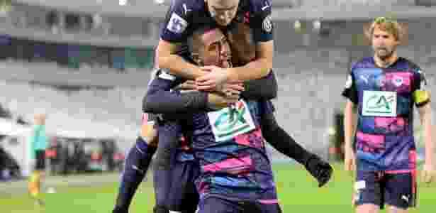 Malcom comemora Bordeaux - Nicolas Tucat/AFP Photo - Nicolas Tucat/AFP Photo