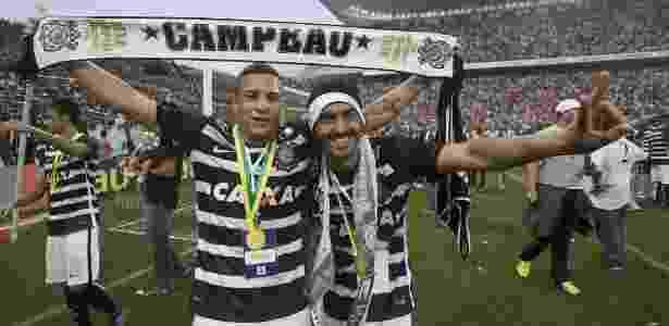 Arana e Uendel - Daniel Augusto Jr. / Ag. Corinthians - Daniel Augusto Jr. / Ag. Corinthians