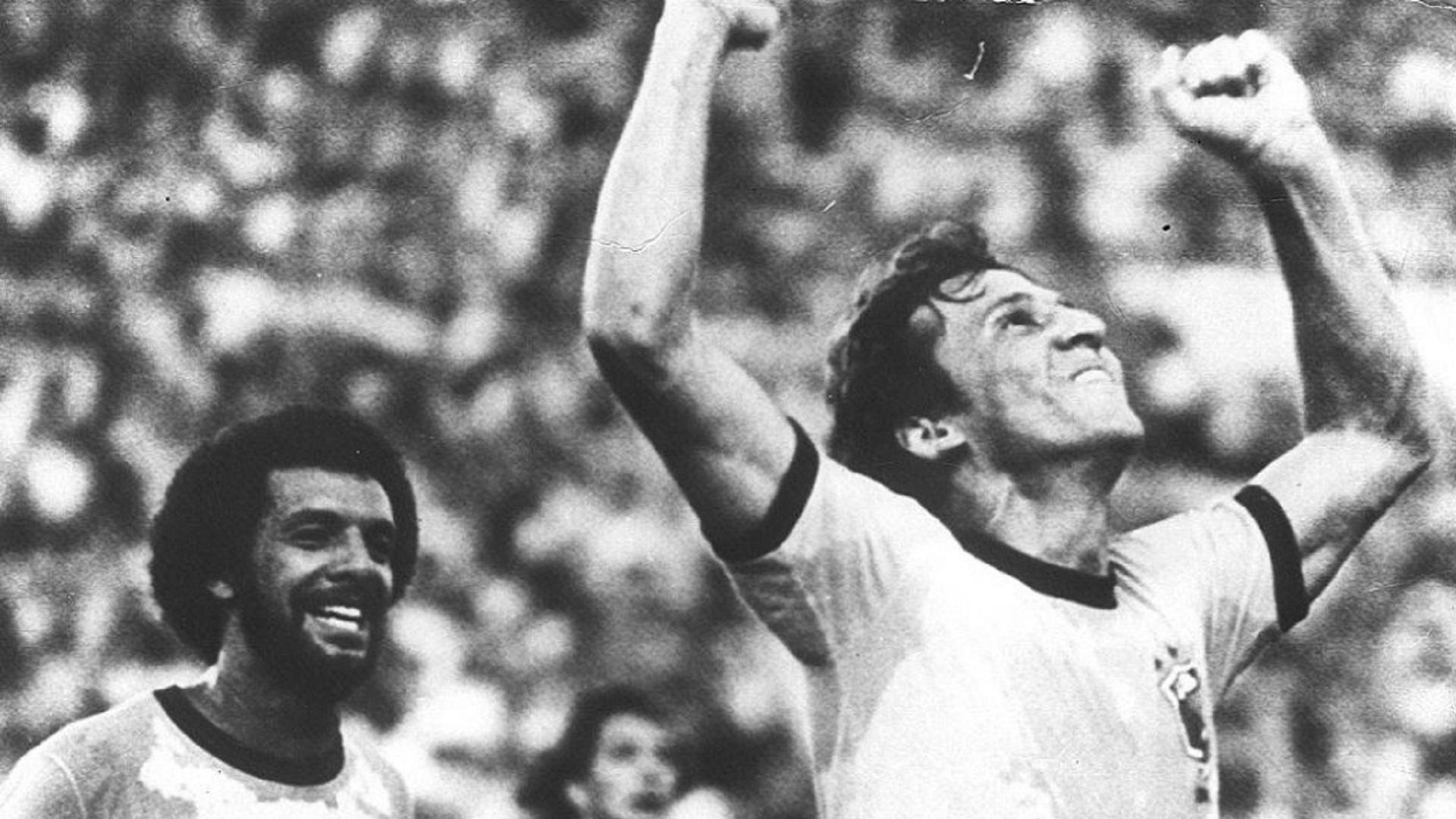 Zico em 1982, na seleção brasileira
