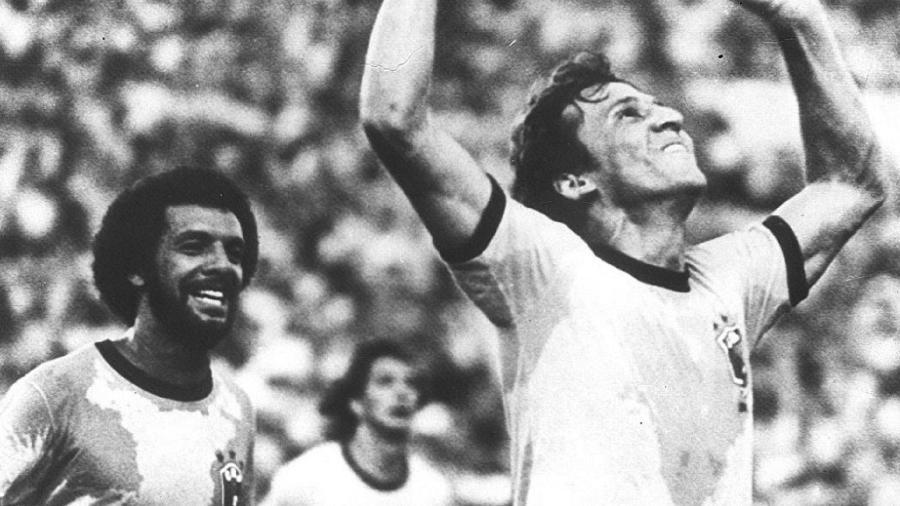 Zico em 1982, na seleção brasileira - Jorge Araujo/Folhapress