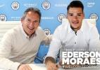"""City anuncia Ederson: """"um dos melhores jovens goleiros da Europa"""" - Divulgação/Manchester City"""