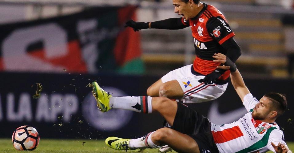 Leandro Damião entrou como titular no Flamengo no lugar de Guerrero