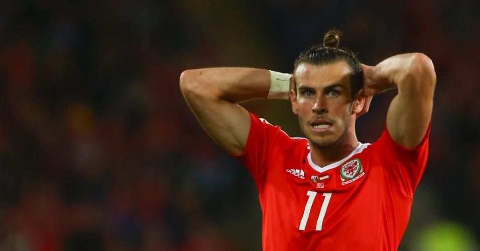 Gareth Bale pelo País de Gales