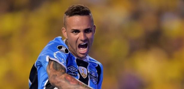 Luan já marcou sete gols na campanha do Grêmio na Libertadores 2017