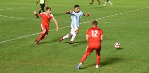 A Argentina goleou a República Tcheca no Sul-Americano por 8 a 2