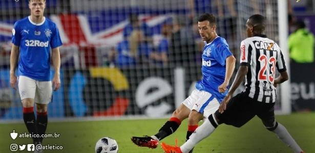 Atlético-MG e Rangers, da Escócia, se enfrentaram em Orlando, nos Estados Unidos, pela Florida Cup