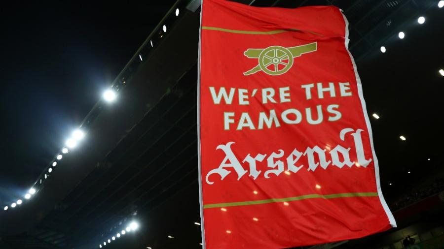Flâmula do Arsenal no Emirates Stadium - Catherine Ivill/Getty Images