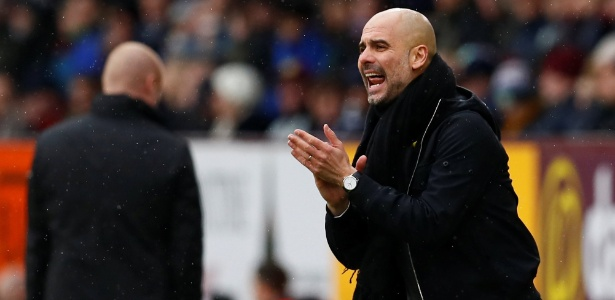 Guardiola comanda o Manchester City